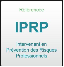 IPRP Intervenant en prévention des risques professionnels